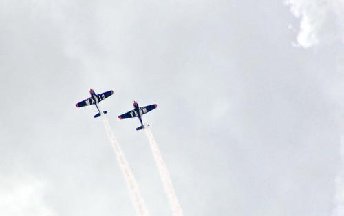 two ontario canada airshow armedforcesday swiftmagic cfbborden