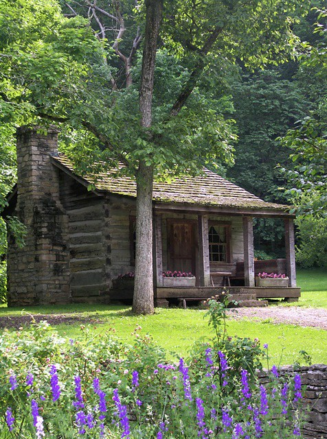 Old Log Cabins A Gallery On Flickr