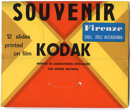 souvenir slides packet