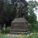 Brooklyn: Green-wood Cemetery - DeWitt Clinton grave