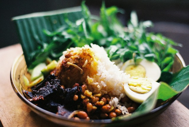 Special local treat for the weekend *Nasi Lemak*