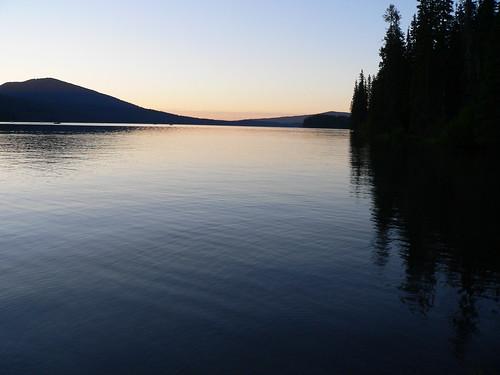 oregon sunrise geotagged dawn odell odelllake geolat43583375 geolon12204154
