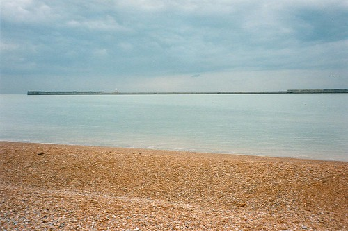 Dover Beach and English Channel