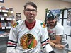 With Brent Sopel.