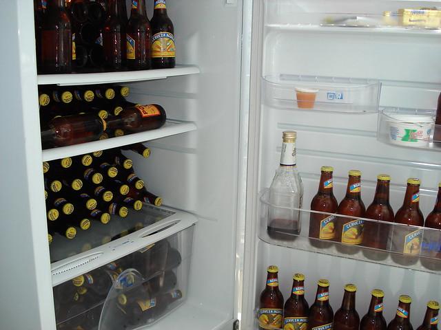 La nevera llena de comida flickr photo sharing - Nevera para cerveza ...