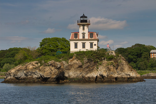 Popham Rocks Light by Michael Macedo via I {heart} Rhody