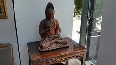 Ming Dynasty Buddha at Panache Antiques