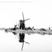 The windmills of Kinderdijk [B&W] by josefrancisco.salgado