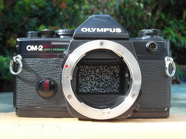 Olympus OM-2 spot/program