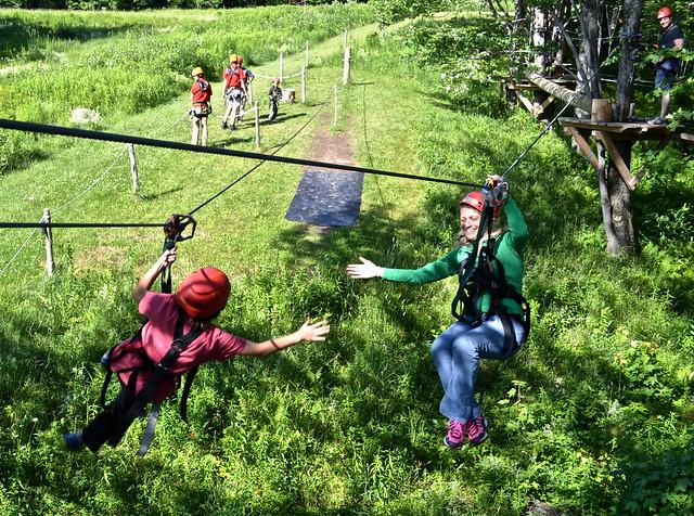 apple creek course 4 - Arbor Trek Smugglers Notch, Vermont
