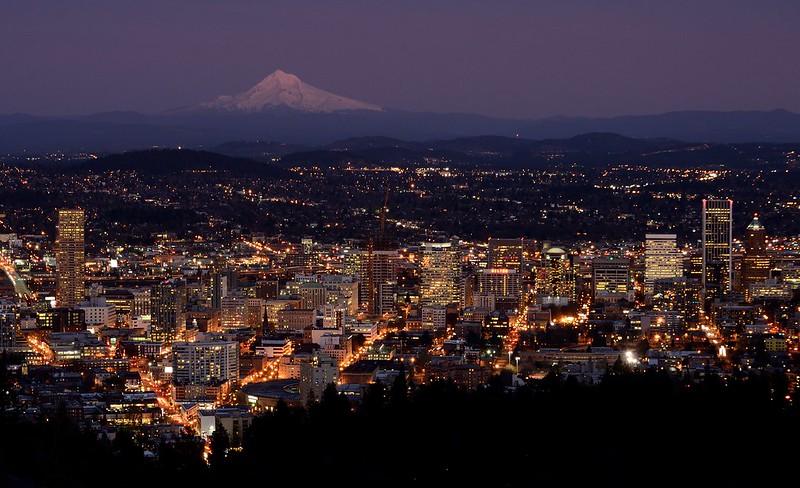 Portland at Dusk