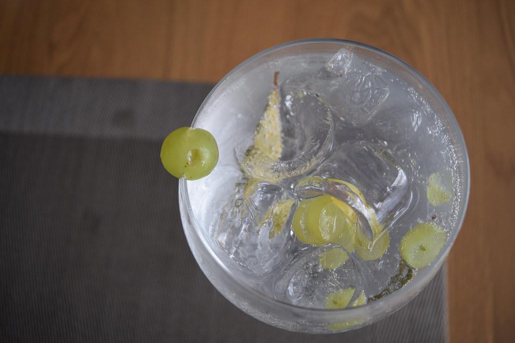 gin, grapes and bay leaves, Sr Guilho, Lisbon
