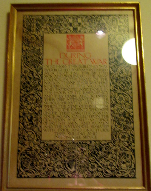 Pollok House Great War Certificate