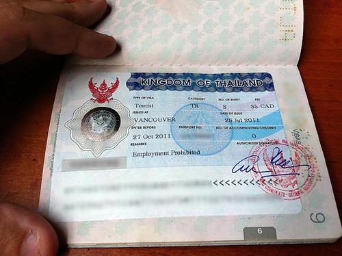 visado-tailandia