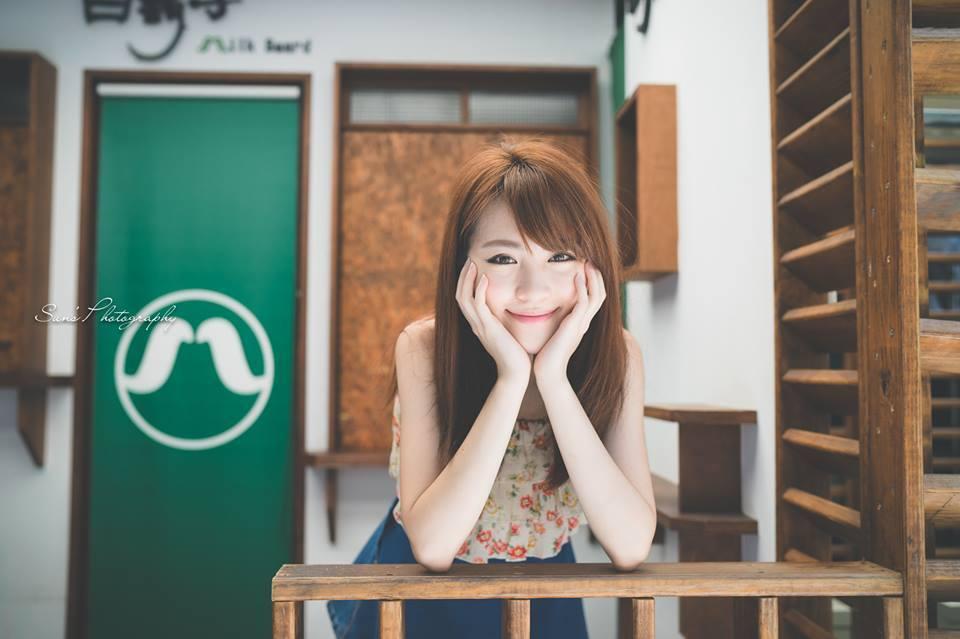 Koobii人氣嚴選134【台北城市科技大學-張偉芬】–擁有白裡透紅牛奶美肌的甜姐兒