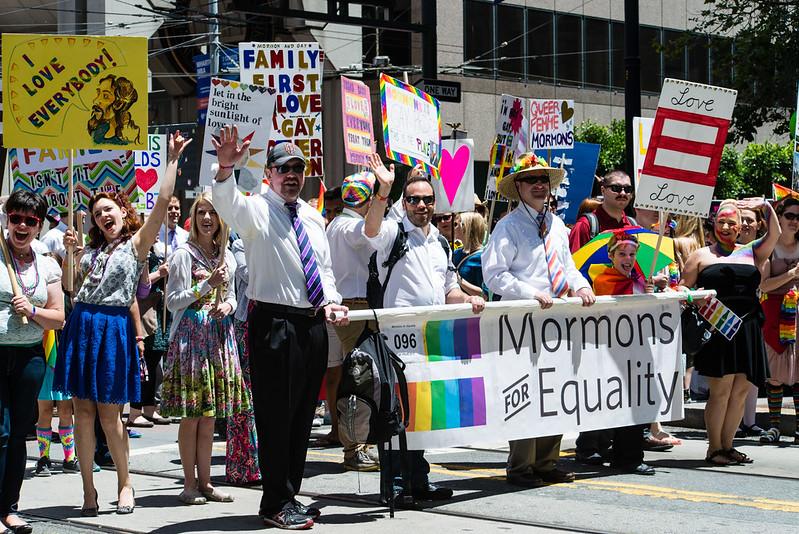 San Francisco Pride / Mormons For Equality