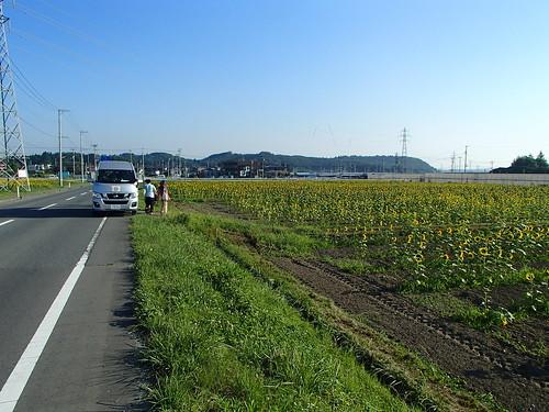 南相馬・小高でボランティア(援人 0731便)