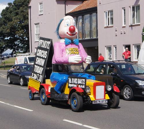 Gtreat Yarmouth Hippodrome clown car (c) David Bell