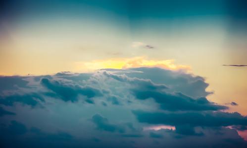 sunset summer sky cloud weather austin evening us texas unitedstates dusk hdr