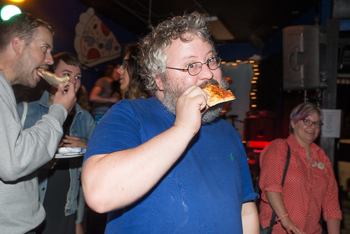 David Ramm of Wimps Eats Pizza