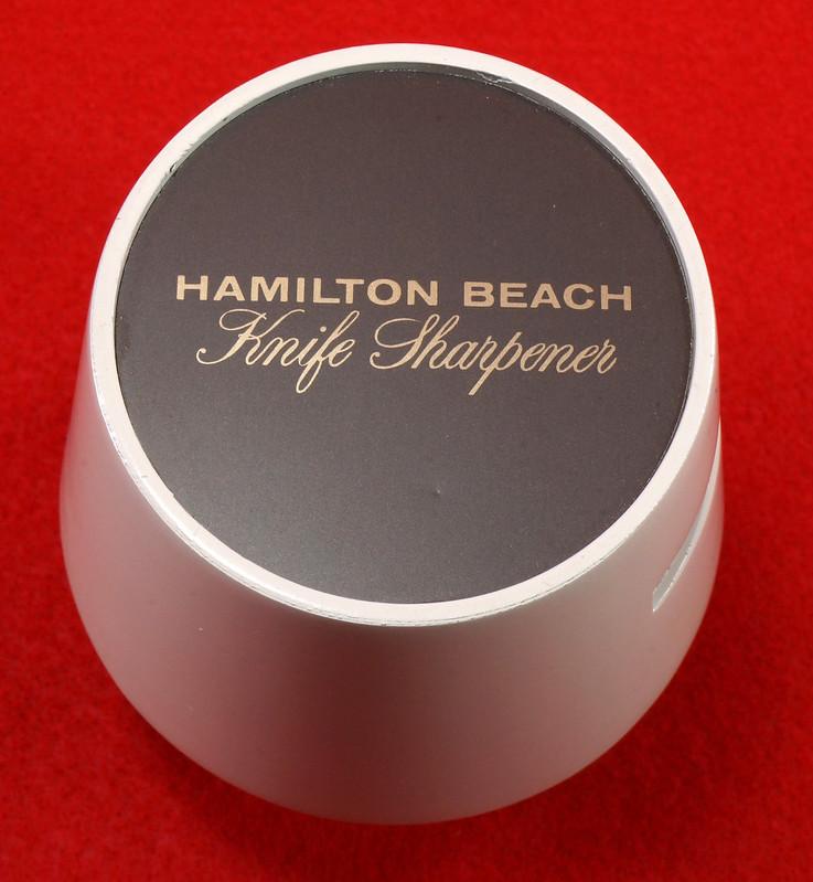 RD9228 Vintage Hamilton Beach Model 578 Knife Sharpener Attachmnt for 223 Gourmet Center Power Unit DSC08531