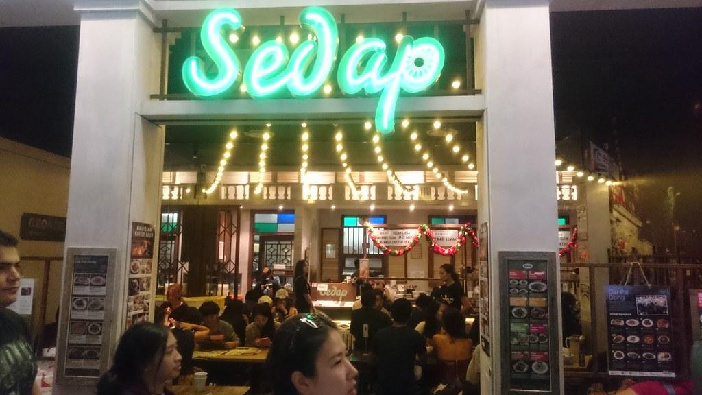 Shopfront - Sedap Malaysian Restaurant, Regent Place, Sydney