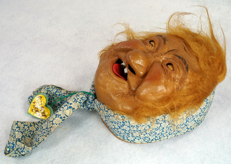 RD10680 Vintage Laffun Head Bibi Products Peter Figuren Old Woman DSC08339