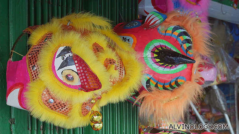 Fancy buying a lion dance head home?