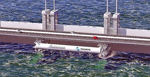 強勁的潮水轉化為電力(圖片來源:Tocardo網站)