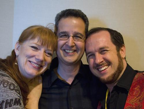 Rhonda Eudaly, John DeNardo, and Marshall Ryan Maresca