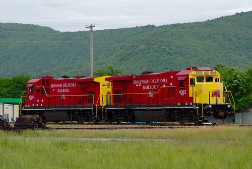 railroad oklahoma railroads aok