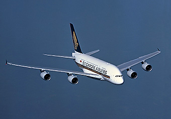 SIngapore Airlines A380 (Airbus)