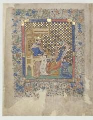 Evangéliaire selon saint Marc, XVe siècle. Ms 265 P/R