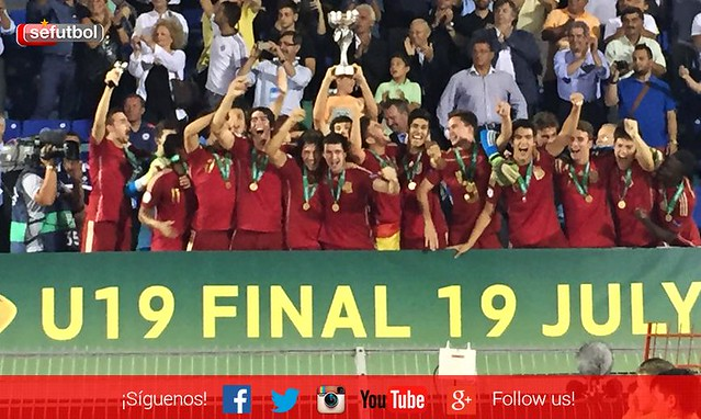 Europeo sub-19 - Final: España 2 - Rusia 0