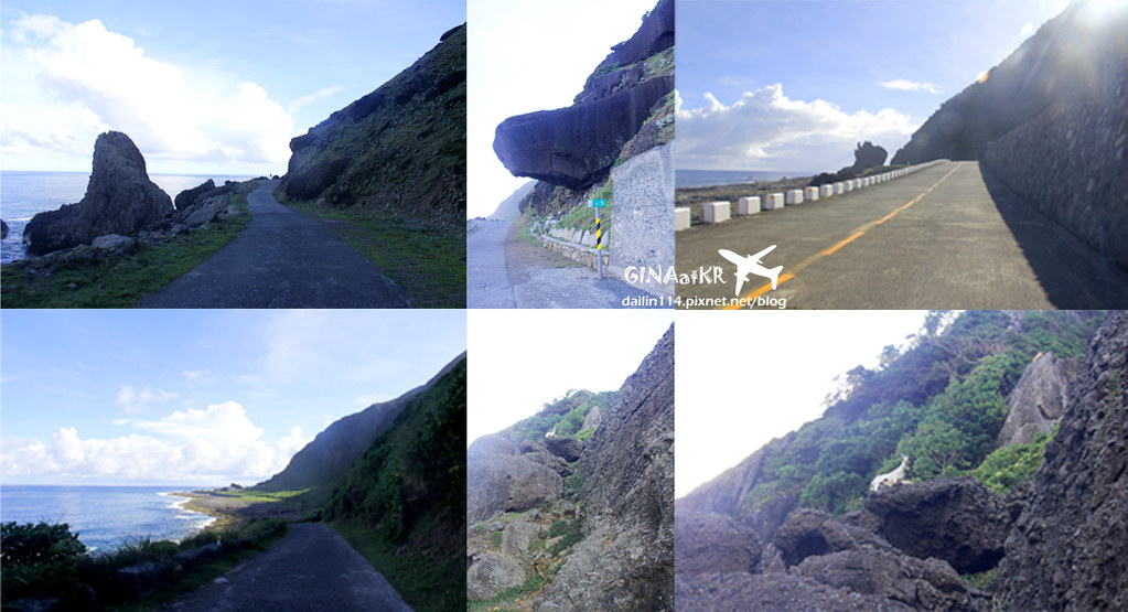 【蘭嶼遊記景點】 台灣離島|野銀、紅頭部落|第二天傾盆大雨,環島行經海很藍|龍頭岩、青青草原、三條飛魚、露天262bar、蘭嶼貯存場 @GINA環球旅行生活|不會韓文也可以去韓國 🇹🇼