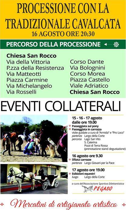 Conversano- Festa di San Rocco Eventi Collaterali