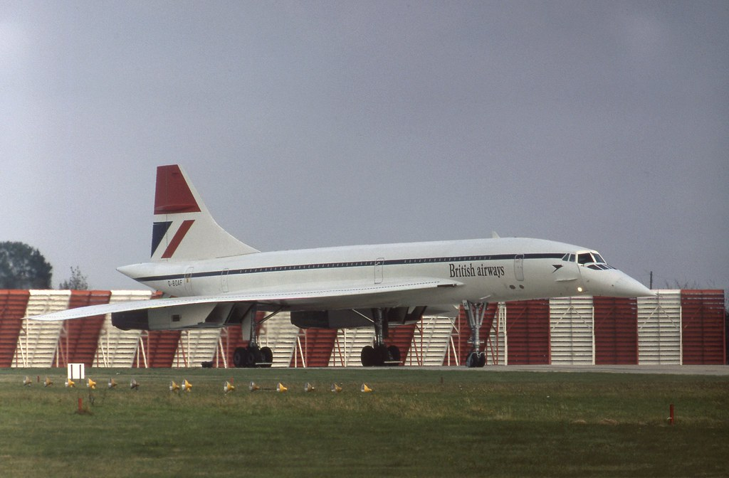 G-BOAF Concorde about to depart on BA171 at London Heathrow