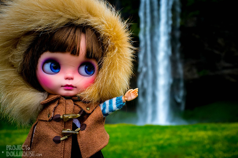 Nori visits the falls