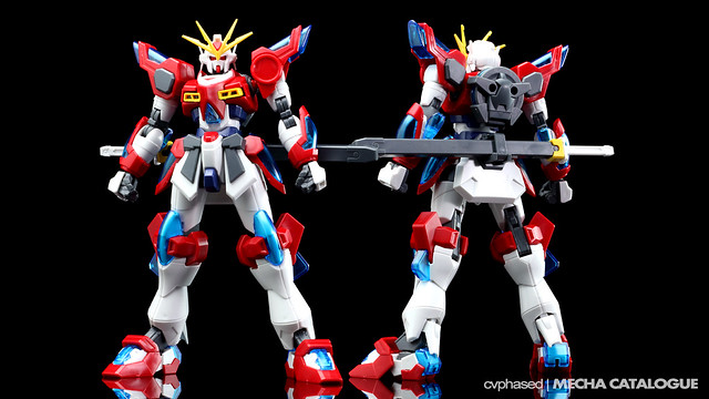 HGBF Kamiki Burning Gundam - Colored Prototype Shots