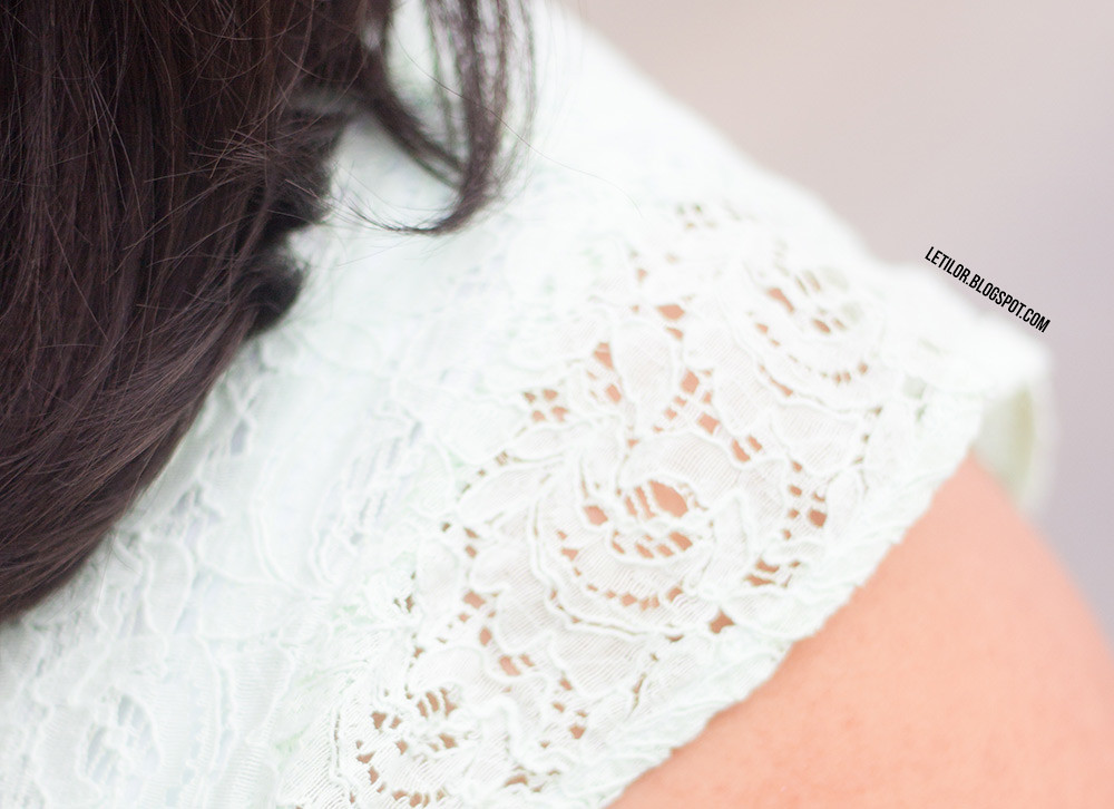 Asos curve dentelle tie&dye