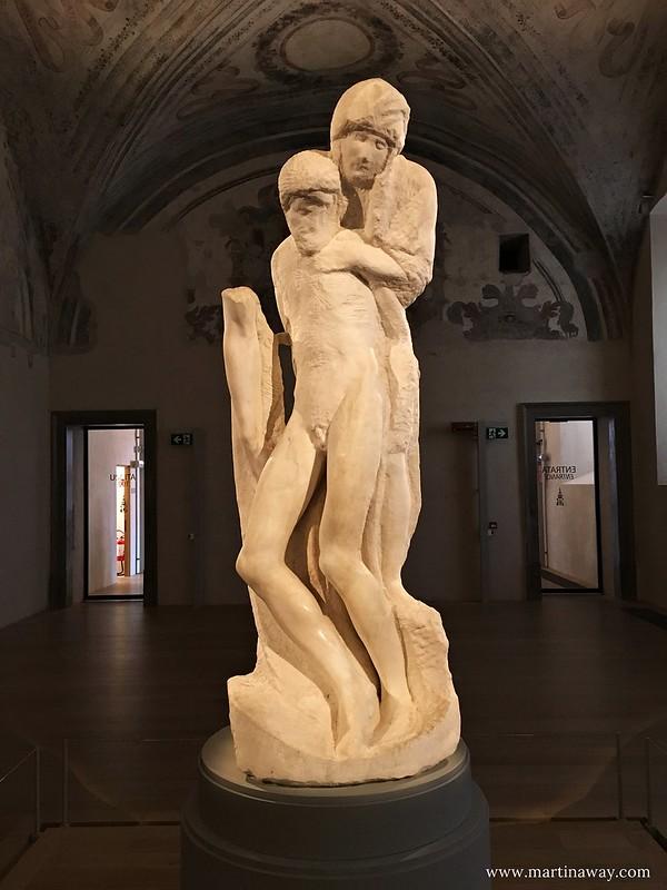 La Pietà di Michelangelo al Castello Sforzesco