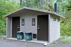 Kiahanie Campground Restroom, Willamette National Forest