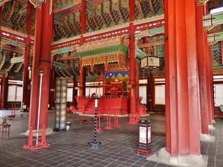 Throne Room of Gyeongbokgung Palace