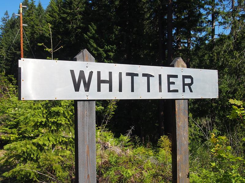 Whittier Sign