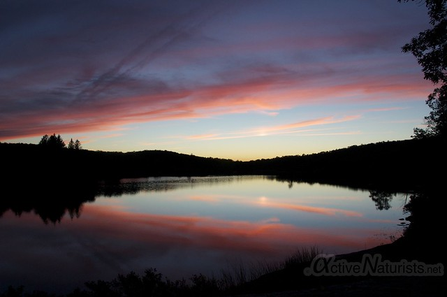 sunset view 0004 Harriman State Park, New York, USA