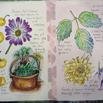 Student work from LavenderSage Art Retreat