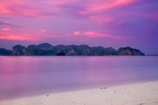 Poda Island & Sunset