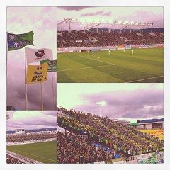 We are the true green army! 3-2 win against dirty green scums. #bellmare