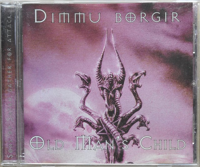 DIMMU BORGIR / OLD MAN'S CHILD SONS OF SATAN GATHER FOR ATTACK (CD)
