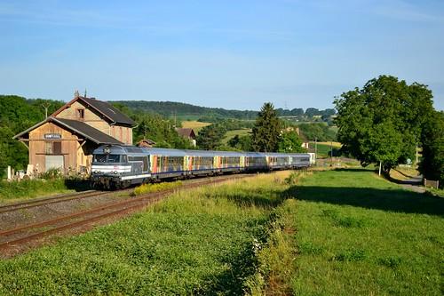 🇫🇷 SNCF BB 67571 + TER 830905 te Domfessel